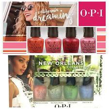 2 PC Mix OPI Mini Nail Polish Set New Orleans & California Dreaming Collection