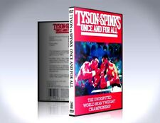 Tyson Vs Spinks - Once and for All - 1988 - Boxing Rare DVD