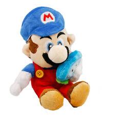 "New Super Mario Bros. Plush Ice Mario Soft Toy Stuffed Animal Teddy Doll 7"""