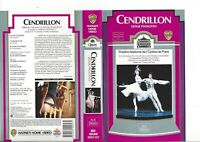 Ballet  OPERA NATIONAL DE PARIS  CENDRILLON Prokofiev TBE 1988