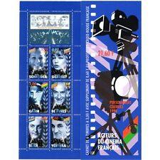 Bande Carnet BC3193 - Acteurs du cinéma français - Personnages célèbres - 1998