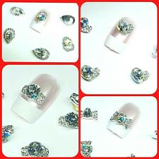 NEW 3D Nail Art Decoration| Bows| Flowers| Rhinestone| Gems| Crystal| Teardrop