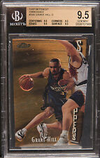 1997-98 finest embossed Grant Hill gold  bgs 9.5