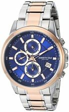 Kenneth Cole New York Men's Quartz Stainless Steel Two Tone Watch KC50733001