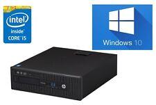 Fast HP EliteDesk 800 G1 Core i5 4670 8 GB Ram 240 GB SSD Windows 10 PC DESKTOP