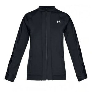 Under Armour Womens Coldgear Run Knit Jacket Gym Training Top 1317295 001