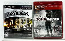 Tomb Raider Trilogy + Tomb Raider - Ps3 - Brand New | Factory Sealed