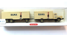 Büssing 8000 RAMA Lastzug Wiking  HO 1:87 #737