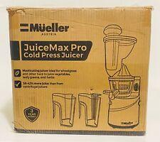 MUELLER AUSTRIA JUICE MAX PRO VERTICAL SLOW Masticating Cold Press JUICER