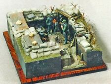 Verlinden 54mm 1/35 Trench Sections WWI / WWII [Plaster Diorama] 118 (MDA 35107)