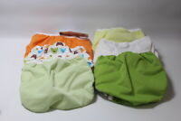 Thirsties Duo Wrap Cloth Diaper Cover Hook & Loop Closure Assorted 6 Pack Size 1