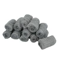 12Pcs Steel Wool Pads Kitchen Wire Cleaning Stainless Steel Ball Pan Cleaner