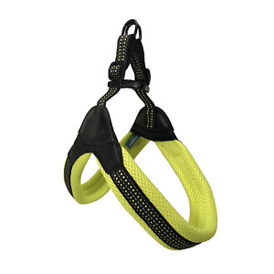 "Sporn Easy Fit Harness Girth 24"" - 36"" Padded For Comfort Easy On Color: Yellow"