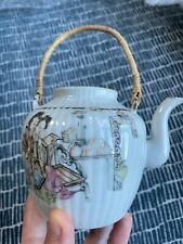 More details for antique chinese porcelain teapot 10 cm qing dynasty 1644 - 1911