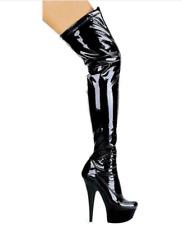 Ellie Shoes Women's 609-Fantasy Boot SIZE 12 BLACK