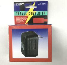 Coby Travel Voltage Converter transformer 240V 220V to 120V 110V 50W Watt Ca-55R