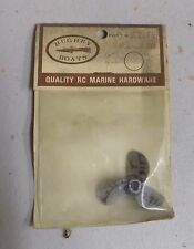 Hughey Boats RC Boat Propeller T3157 OB 2.75p Quality RC Marine Hardware Vintage