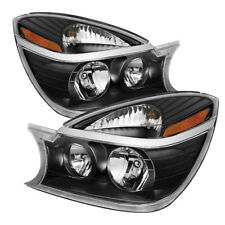Buick 04-05 Rendezvous Black Housing Replacement Headlights Lamp CXL CX Ultra