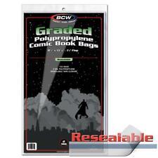 1000 BCW RESEALABLE BAG FOR GRADED COMICS - 8.5 X 13 7/16