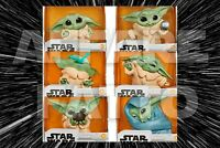 Baby Yoda Figure - Star Wars The Mandalorian Baby Bounties Figures !!!