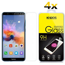 4-pack Khaos for Huawei Honor 7x Tempered Glass Screen Protector