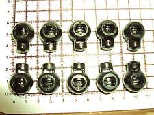 "10pcs LOCK END DRAW STRING CORD LANYARD STOPPER RUCKSACK JACKET PARACORD ""B-77"""