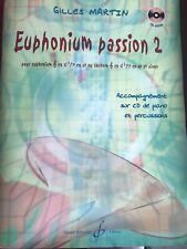 Méthode De Tuba «Euphonium Passion 2»Avec CD. Pour Euphonium Ou Saxhorn (tuba)