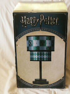 """Harry Potter Slytherin House Tiered Lamp 2017 About 17"""" Tall New in Box"""