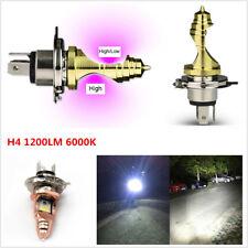 12V HS1 H4 COB LED Hi/Lo Beam Bright Motorcycle Headlight Front Light Bulb 6000K