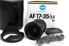 @ Minolta AF 17-35mm F3.5 G Series Lens original boxed Sony Alpha Mount