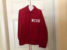VTG Vintage North Carolina State University NCSU Wolfpack Jacket Adult S