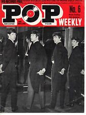 Pop Weekly Magazine 5 October 1963   The Beatles   The Caravelles   Janie Marden
