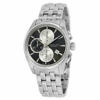 Hamilton Men's Watch Jazzmaster Grey Dial Stainless Steel Bracelet H32596181
