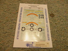 Superscale decals 1/48 48-1194 P-51B Mustangs 362nd 357th   N105