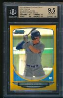 BGS 9.5 w/10 AARON JUDGE 2013 Bowman Chrome GOLD REFRACTOR #/50 RC TRUE GEM MINT