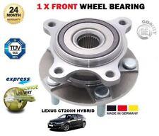 Para Lexus Ct200h 1.8 Vvti híbrido 12/2010 - & gt Rueda Delantera Kit de rodamientos Hub Asamblea