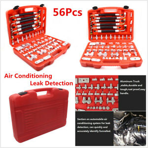 56pc Car Truck Auto A/C Compressor Air Conditioning Leak Detector Detection Tool
