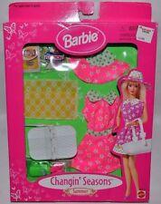 Nrfb-1998-Barbie Changin' Seasons-Summer Fashion-Potato Chips-Chips Ahoy-Grapes!