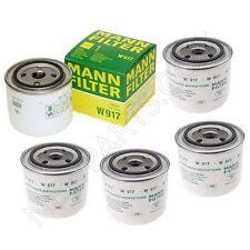 Set of 5 Mann Filter Engine Oil Filter For 240 260 740 780 850 940 960 C70 S90