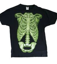 Glow In The Dark Skeleton T-Shirt NEW, Skeleton Xray T-Shirt, Spooky T-Shirt