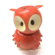 Enesco Home Grown Red Apple Owl Figurine