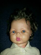"""Large 1960s Vintage Baby Doll 23"""" from Scandinavia"""
