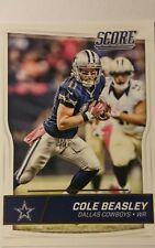 NFL Trading Card Cole Beasley Dallas Cowboys Score 2016 Panini
