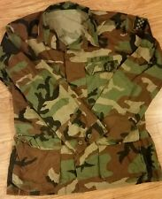 US Army Combat Coat Woodland Camouflage Medium Long