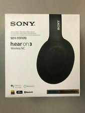Sony Wh-H910N h.ear on 3 Wireless Noise Canceling Black Battery Life 35 Hours
