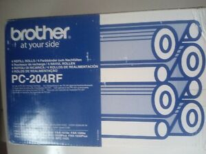 Brother PC-204RF NEW BOX SLIGHTLY TATTY BUT CONTENTS SEALED UNOPENED