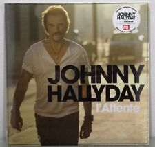LP JOHNNY HALLYDAY -  L'attente NEUF SCELLE album pressage Original de 2012