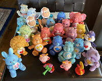 "Vintage Care Bears And Cousins Figures Poseable 3"" PVC Lot Of 22 With Extras"