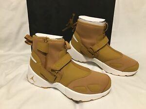 NIKE 23 JORDAN Trunner LX High Basketball Shoes Golden Harvest Uk 9 Eu 44 BNIB