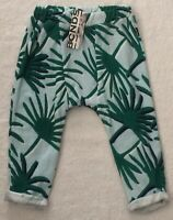 Bonds Green Harem Pants  Size 2 (18-24 Months) BRAND NEW WITH TAGS